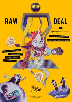 Poster for Raw Deal at The Alibi