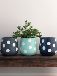 Painted Plant Pots, Painted Flower Pots, House Plants Decor, Plant Decor, Small Flower Pots, Diy Concrete Planters, Flower Pot Design, Beton Diy, Concrete Crafts