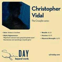 Christopher Vidal - Crossfire Series - Sylvia Day