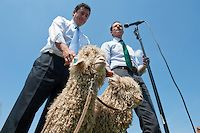 May 10, 2012: Rep. Jason Chaffetz and Rep. Anthony Weiner speak out against the outdated mohair subsidy as an example of wasteful government spending.
