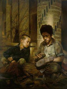 Galería Pintores Extranjeros :: MORTEZA KATOUZIAN