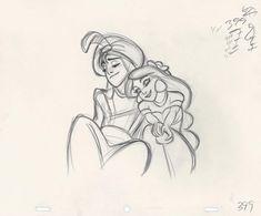 Aladdin animation drawing by Glen Keane (x) character Rpg art concept art keane art schmidt Disney Sketches, Disney Drawings, Cartoon Drawings, Art Drawings, Drawing Faces, Character Design Animation, Character Drawing, 3d Character, Character Concept