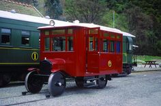 Model T Ford railcar in New Zealand