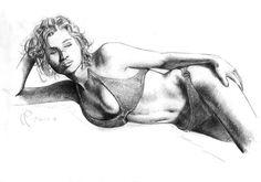 Pencil sketch by Emmanuele Cammarano