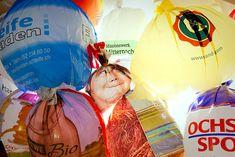 Las bolsas de plástico durante los primeros días lucieron espectaculares