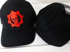Gears Of War Omen Logo Video Game Flex Fit Hat #GearsOfWar #BaseballCap