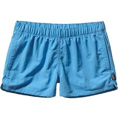 Patagonia Women's Barely Baggies Short ($49) ❤ liked on Polyvore featuring activewear, activewear shorts, shorts, skipper blue, patagonia, patagonia sportswear, women activewear and columbia sportswear