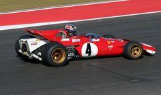 Jacky Ickx Ferrari 312B 1970   (Austín 2012) © Peter Linder