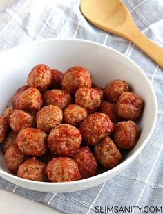 3. Tangy Turkey Meatballs #paleo #crockpot #recipes http://greatist.com/eat/paleo-crock-pot-recipes