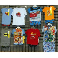 Boys infant and toddler licensed short sleeve http://www.tradeguide24.com/3627___Boys_infant_and_toddler_licensed_short_sleeve_pajamas__BSITLICPJ___ #fashion #stocklot #wholeasle