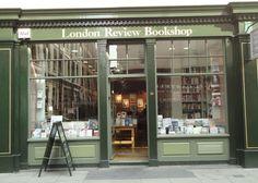 London Review Bookshop, 14 Bury Place, Bloomsbury; Tel: +44 (0)20 7269 9030, http://www.lrbshop.co.uk