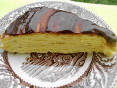 ZORINI RECEPTI: Krem torta sa palačinkama