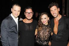 Photo 7 of 11   Jujamcyn Theaters head Jordan Roth and Maks' brother Val Chmerkovskiy (who placed second in this year's DWTS, partnered with Zendaya) congratulate Karina and Maks.   Karina Smirnoff, Maksim Chmerkovskiy & Gilberto Santa Rosa Enjoy a Fab First Night in Forever Tango   Broadway.com