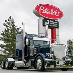 Peterbult a mans truck Peterbilt 379, Peterbilt Trucks, Semi Truck Parts, Semi Trucks, Custom Big Rigs, Custom Trucks, Big Rig Trucks, Cool Trucks, Diesel Pickup Trucks