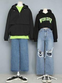 Ulzzang Fashion, Kpop Fashion Outfits, Korean Outfits, Cute Fashion, Korean Fashion, Fashion Teens, Fashion Dresses, Emo Fashion, Vetements Clothing