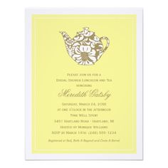 DealsWedding Bridal Shower Invitation | High Tea Theme Announcementswe are given they also recommend where is the best to buy