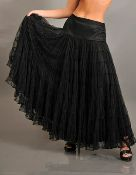 Belly Dancing multi layer mesh skirt