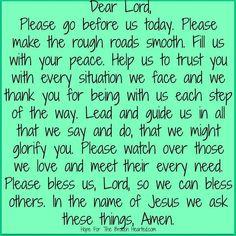 Prayers!