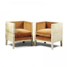 Cube Chairs | Jean Michel Frank