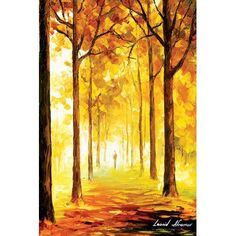"Andover Mills Yellow Mood' Painting Print on Wrapped Canvas Size: 26"" H x 18"" W x 1.5"" D"