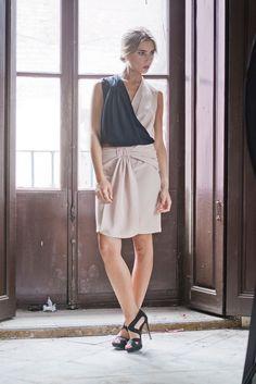 Vanderwilde. Nudo Top + Rabat Skirt