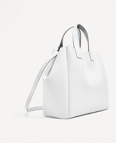 ZARA - COLLECTION AW/17 - SOFT DOUBLE SIDED MINI TOTE BAG