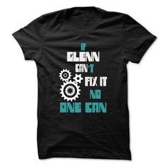 awesome GLENN Mechanic - 999 Cool Name Shirt ! online