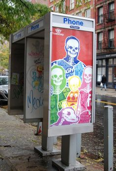 TrustoCorp Phonebooth Takeovers in Manhattan