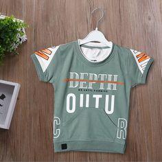 Gents T Shirts, Boys Shirts, New T Shirt Design, Tee Shirt Designs, Mens Printed T Shirts, Mens Designer Shirts, Boys Clothes Style, Kids Suits, Kids Fashion Boy