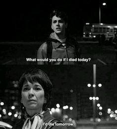 """Xavier Dolan et Anne Dorval, """"J'ai tué ma mère"""" (Dolan, 2009)."""