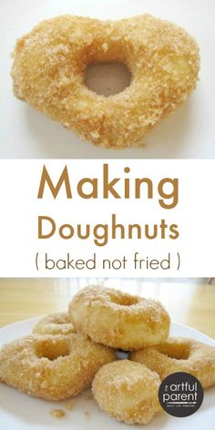 Ha! I couldn't help it. I know I'm being cheesy. But it's true. I do love doughnuts. And these are baked, so they're healthy, right? Actually I think I'm experiencing sugar-induced punchiness. Okay. Let's start over. We made doughnuts this morning using this recipe at 101 Cookbooks, found via the ever-inspiring SouleMama. Luckily Justin and...Read More »