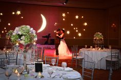 Moon And Star Wedding Decorations Crescent Stars Gobo Starry Night Wedding, Moon Wedding, Star Wedding, Trendy Wedding, Dream Wedding, Wedding Day, Galaxy Wedding, Celestial Wedding, Wedding Stuff