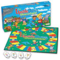 Upside Down Divorce Board Game