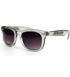 Santa Cruz Iceman Shades - Smoked Black