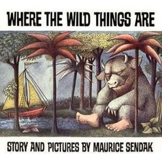 Tiny Bee Gift Co Where the Wild Things Are Book, classic picture book, by Maurice Sendak. Maurice Sendak, Best Children Books, Toddler Books, Childrens Books, Baby Books, Child Love, Your Child, Laurence Anyways, France 4