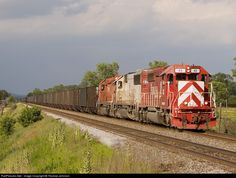 RailPictures.Net Photo: INRD 43 Indiana Rail Road EMD SD40-2 at Ft. McCoy, Wisconsin by Thomas Johnson