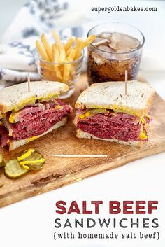 Homemade salt beef recipe