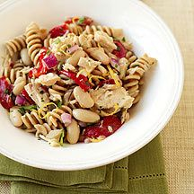 White Bean - Tuna Pasta Salad:  Light and Filling.  A nice summer side or an entree for me.  David even approved!