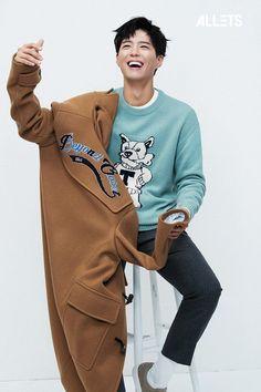 Park Bo Gum demonstrates his boyfriend charm with 'Allets' Park Bo Gum Photoshoot, Park Bo Gum Cute, Park Bo Gum Wallpaper, Park Go Bum, Handsome Korean Actors, Weightlifting Fairy Kim Bok Joo, Cute Photos, Asian Men, Fitness Fashion