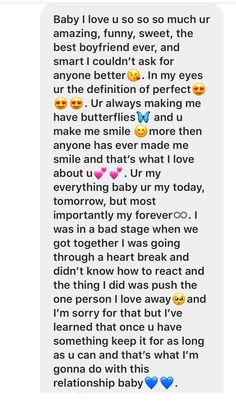 Paragraph for ur boyfriend Paragraph for ur boyfriend <br> Love Letter To Girlfriend, Love Text To Boyfriend, Cute Messages For Boyfriend, Cute Text Messages, Boyfriend Girlfriend, Gift To Girlfriend, Letter For Boyfriend, Relationship Paragraphs, Cute Relationship Texts