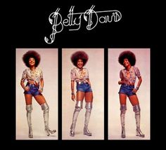 Love this Betty Davis album cover.