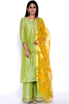 Confused, what to wear for your Haldi ? Head to our blog for outfit ideas under budget. Click on the link attached below  #indianwedding #shaadisaga #intimatewedding #bridalfashion #indianweddinginspiration #haldiceremony #haldioutfitideas #weddingoutfitonbudget Flared Palazzo, Haldi Ceremony, Intimate Weddings, Bridal Style, Blouse Designs, What To Wear, Elegant, Yellow, Lime