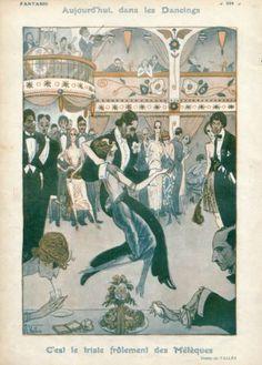 Armand Vallée 1921 Dancers, Roaring Twenties