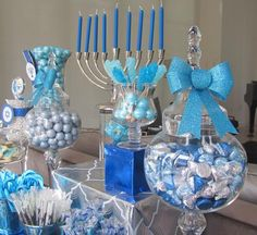 Hanukkah decorations play a substantial role in the celebration of the festival. You are in a position to buy Hanukkah lights in that the kind of a menorah or a dreidel or maybe you opt to go for conventional bulbs. Hanukkah Lights, Hanukkah Crafts, Hanukkah Decorations, Hanukkah Menorah, Table Decorations, Happy Hannukah, Feliz Hanukkah, Christmas Hanukkah, Jewish Hanukkah