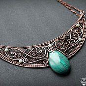"Handmade Jewelry. Fair Masters - handmade necklace ""of warm water of the Amazon."" Handmade."