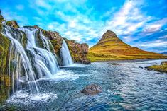Have 3 days in Iceland? This ultimate Iceland itinerary will help you plan your trip! See waterfalls, canyons, and beaches on this Iceland 3 day trip! Waterfall Quotes, Iceland Wallpaper, Hd Wallpaper, Bon Plan Voyage, Iceland Travel Tips, Travel Guide, Travel Trip, Iceland Waterfalls, Les Cascades