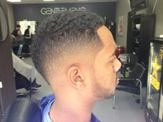 Low bald fade Mohawk