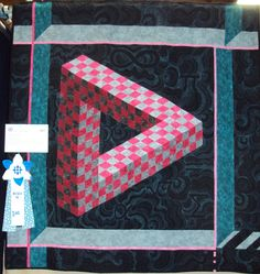 optical illusion quilts - Google Search