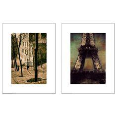 TVILLING, Bild 2 St., Pariser Szenen, Jetzt bestellen unter: https://moebel.ladendirekt.de/dekoration/bilder-und-rahmen/bilder/?uid=b014b70b-9b9d-56e6-b888-888509dfc417&utm_source=pinterest&utm_medium=pin&utm_campaign=boards #bilder #rahmen #dekoration
