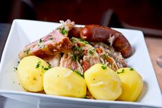Alsace Food has a taste all its own. Explore the unique taste of Alsatian Food in this region of France on the Germany border. French Food At Home, Lorraine Recipes, Sausage, Foods, Discovery, Germany, Europe, Italy, Eat